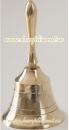 Колокольчик с красным атласным бантиком, звонкий, высота 110 мм