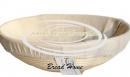 Корзинка из ротанга для расстойки теста, размер 30*9 см