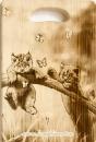 """Доска разделочная """"Котята, бабочки"""""""