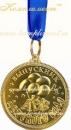 """Медаль """"Выпускник детского сада"""" (лента синяя), арт.84"""