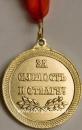 """Медаль """"За смелость и отвагу"""" (лента красная) 9.1"""