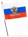 Флажок Россия Герб