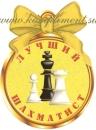 """Медаль """"Лучший шахматист"""""""