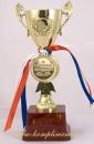 Кубок чаша на постаменте и медаль За спортивные достижения
