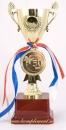 Кубок чаша на постаменте и медаль 50,55 лет