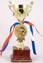 Кубок чаша на постаменте и медаль 65,70,75 или 80 лет