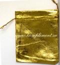 Мешочек (ткань) золото