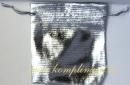 Мешочек (ткань) серебро