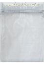 Мешочек белый, органза (16  см*22 см)