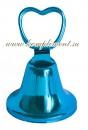 Колокольчик (сердечко, синий)