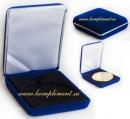 Футляр для медали (синий, размер 75 мм*100 мм)