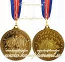 """Медаль """"Присвоено звание Первоклассник. Вперед в страну знаний"""""""