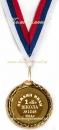 """Медаль """"Первоклассник"""", 45 мм, односторонняя"""
