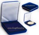 Футляр для медали (синий, ровная основа)