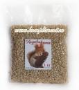 Ядро кедрового ореха, 1 кг, вакуумная упаковка Белочка с шишкой