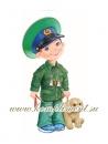 Мальчик-пограничник (плакат вырубной)