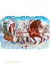 """Плакат """"Дед Мороз. Тройка"""""""